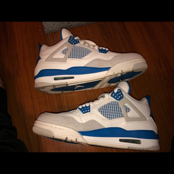 pick up 0c1a5 be63f Air Jordan military blue 4s